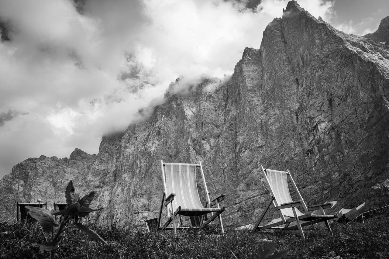 <p>Sonnenstühle, Laliderer Wände, Karwendel, 12. Juli 2013</p>