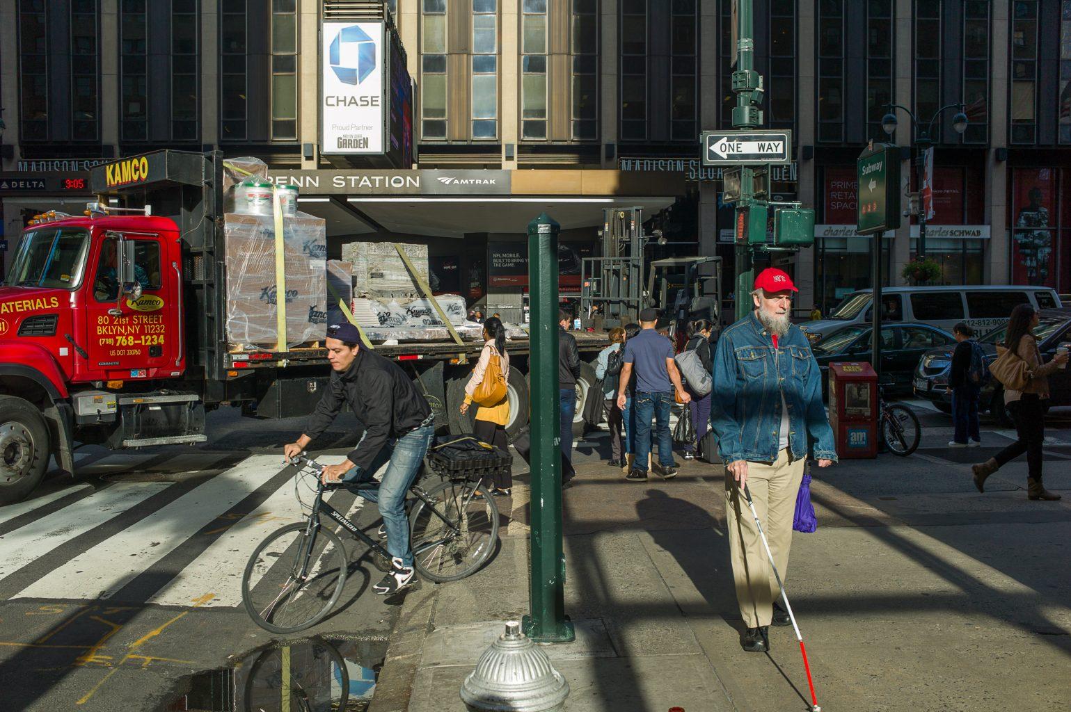 City Colour IV, Penn Station, New York City, 8. Oktober 2012