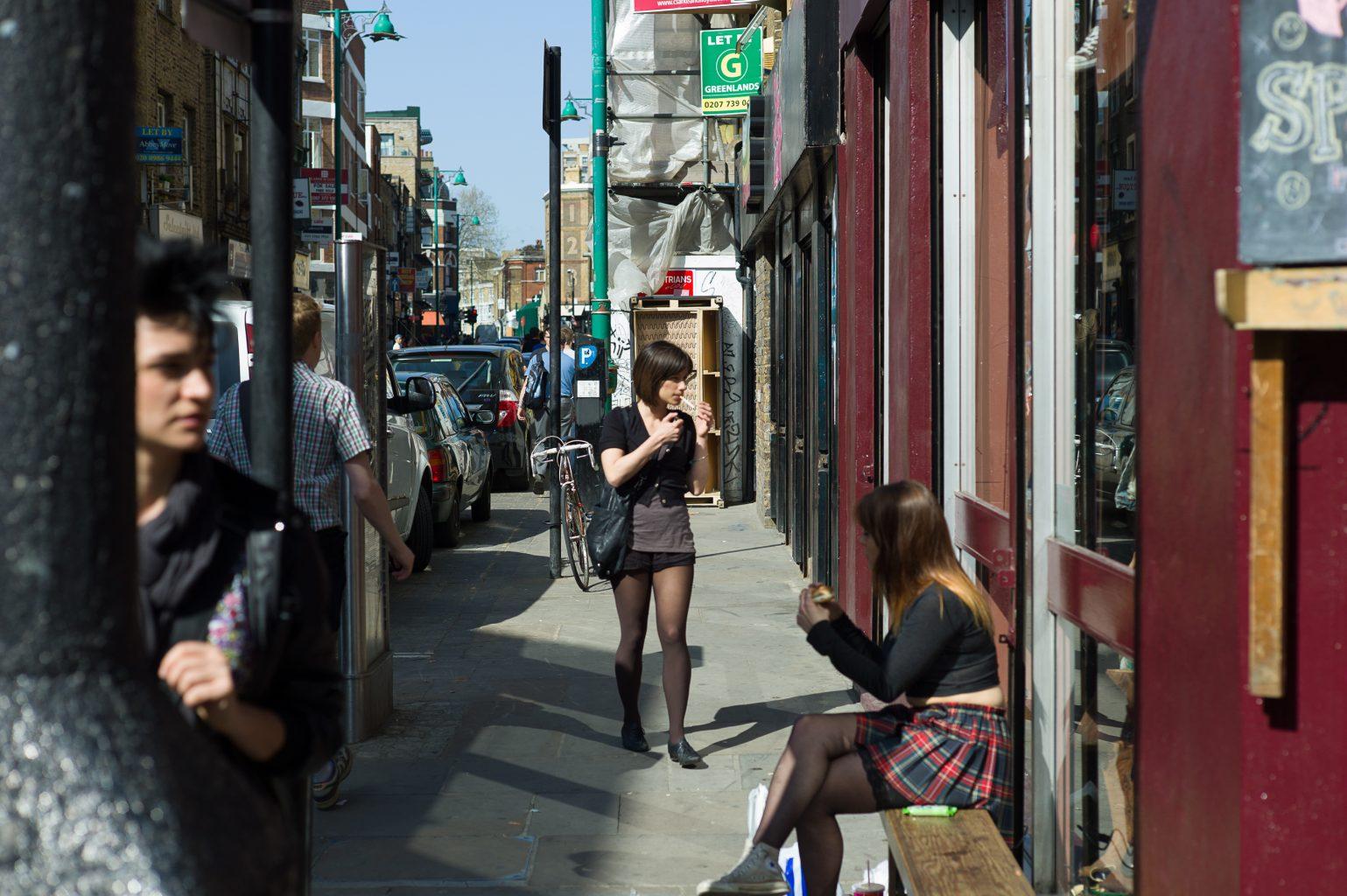 City Colour II, Brick Lane, London, 9. April 2011