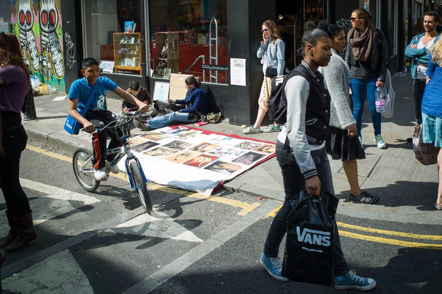 City Colour III, Brick Lane / Bacon Street, London, 13. Mai 2012