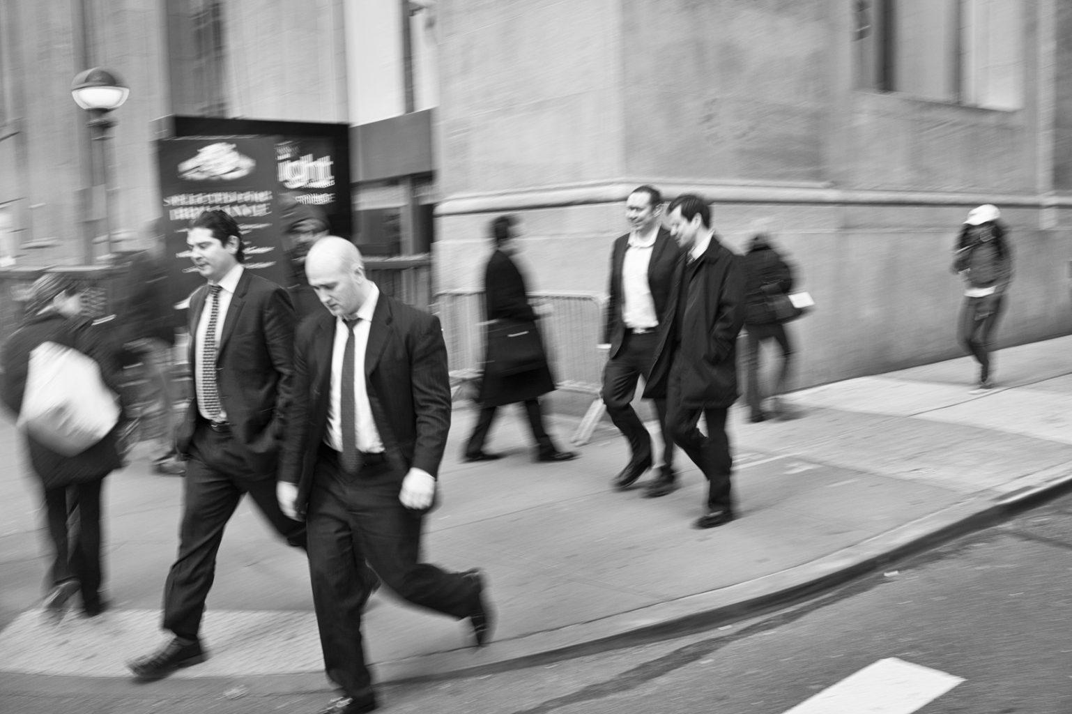 Wall Street, New York City, 3. Februar 2012
