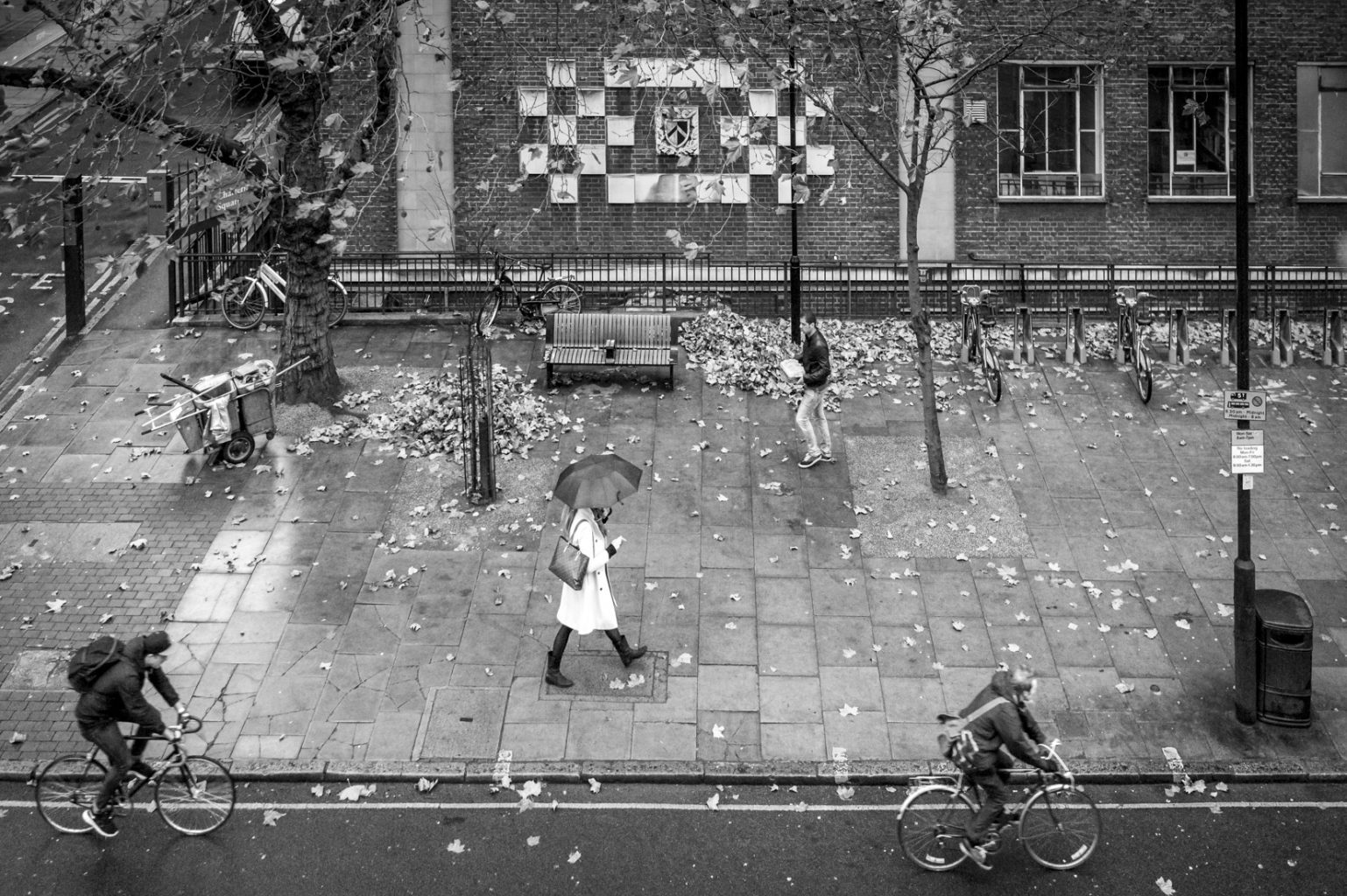 Herbstmorgen, Clerkenwell, London 20. November 2012