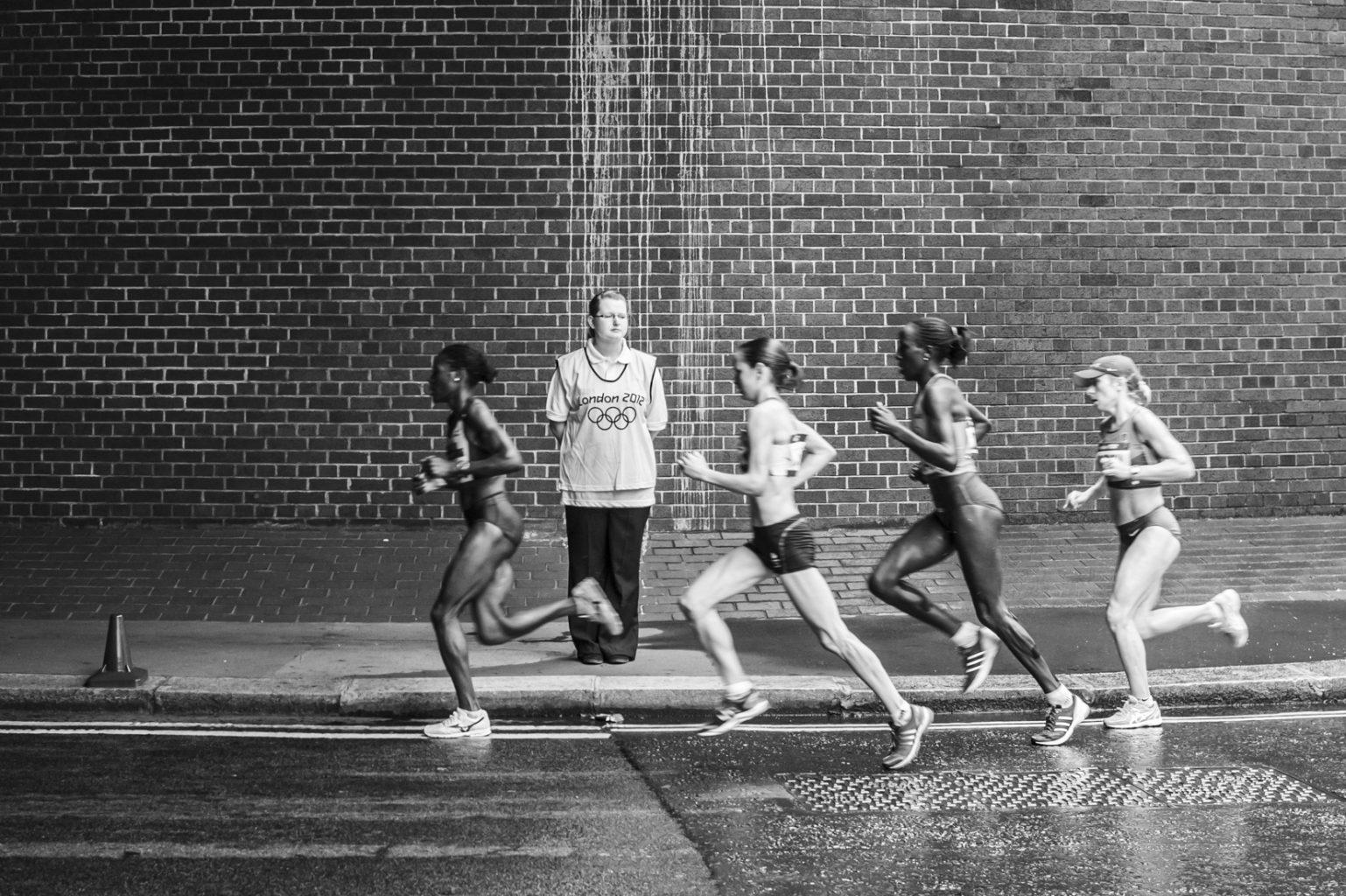 Olympischer Marathon der Frauen, London, 5. August 2012