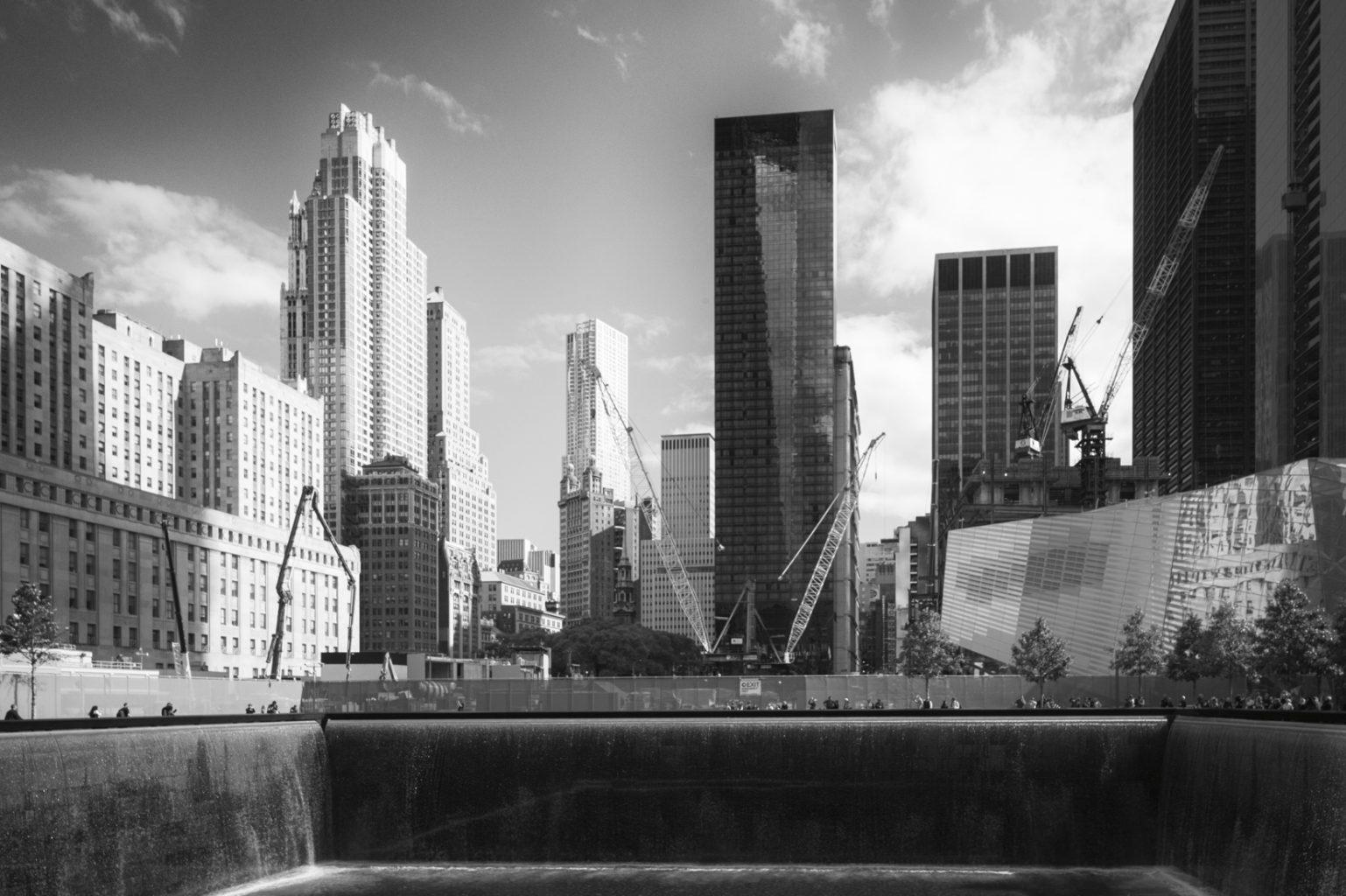 Ground Zero, New York City,  10. Oktober 2012