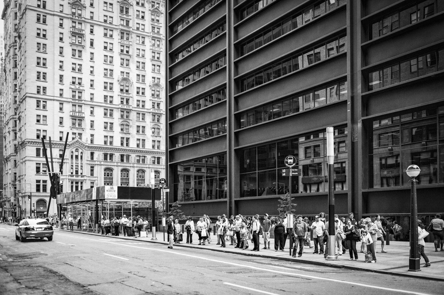 Broadway, Financial District, New York City, 22. Juni 2012